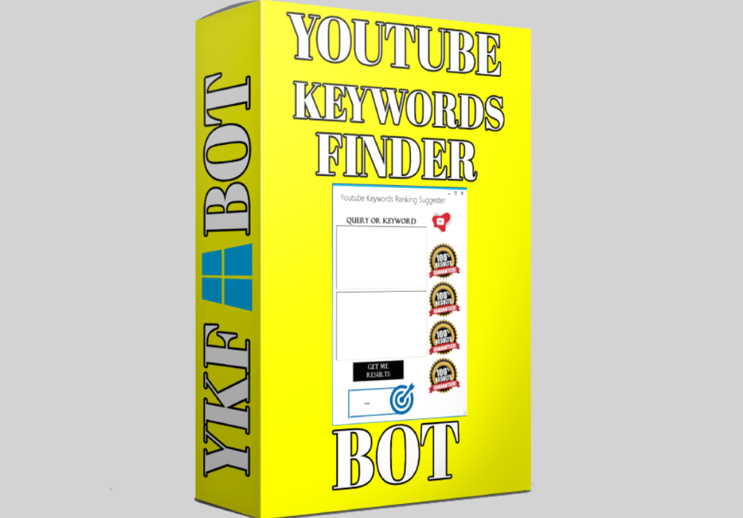 Youtube ranking Keywords Finder Software Bot