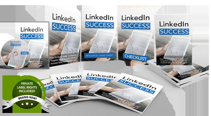Linkedin Success Mega Pack PLR Product Pack