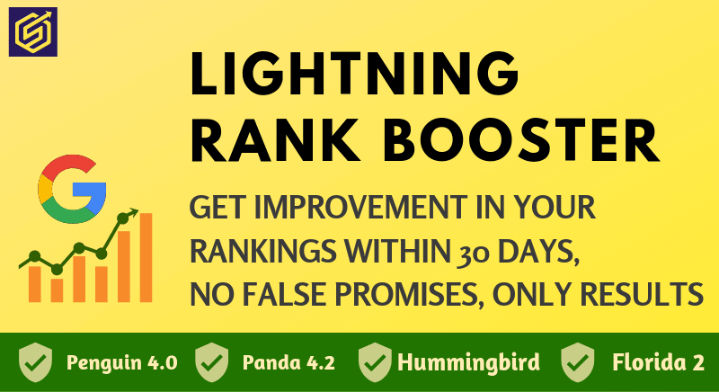 REAL RANKING SOLUTION - Get Rank on Top of Google with guaranteed results