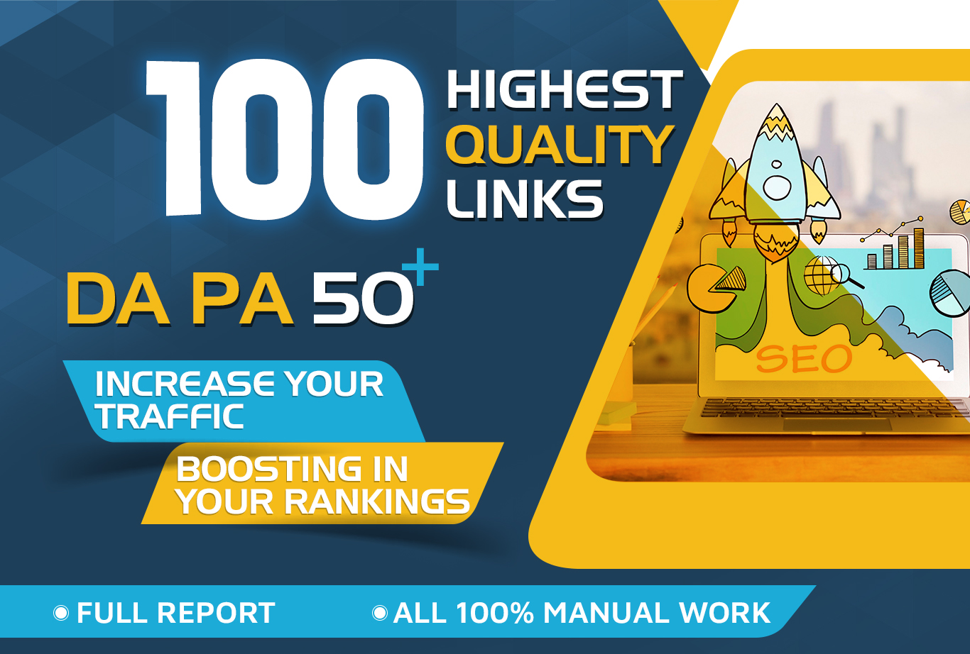 Get 100+highest Qaulity link all 50DA+