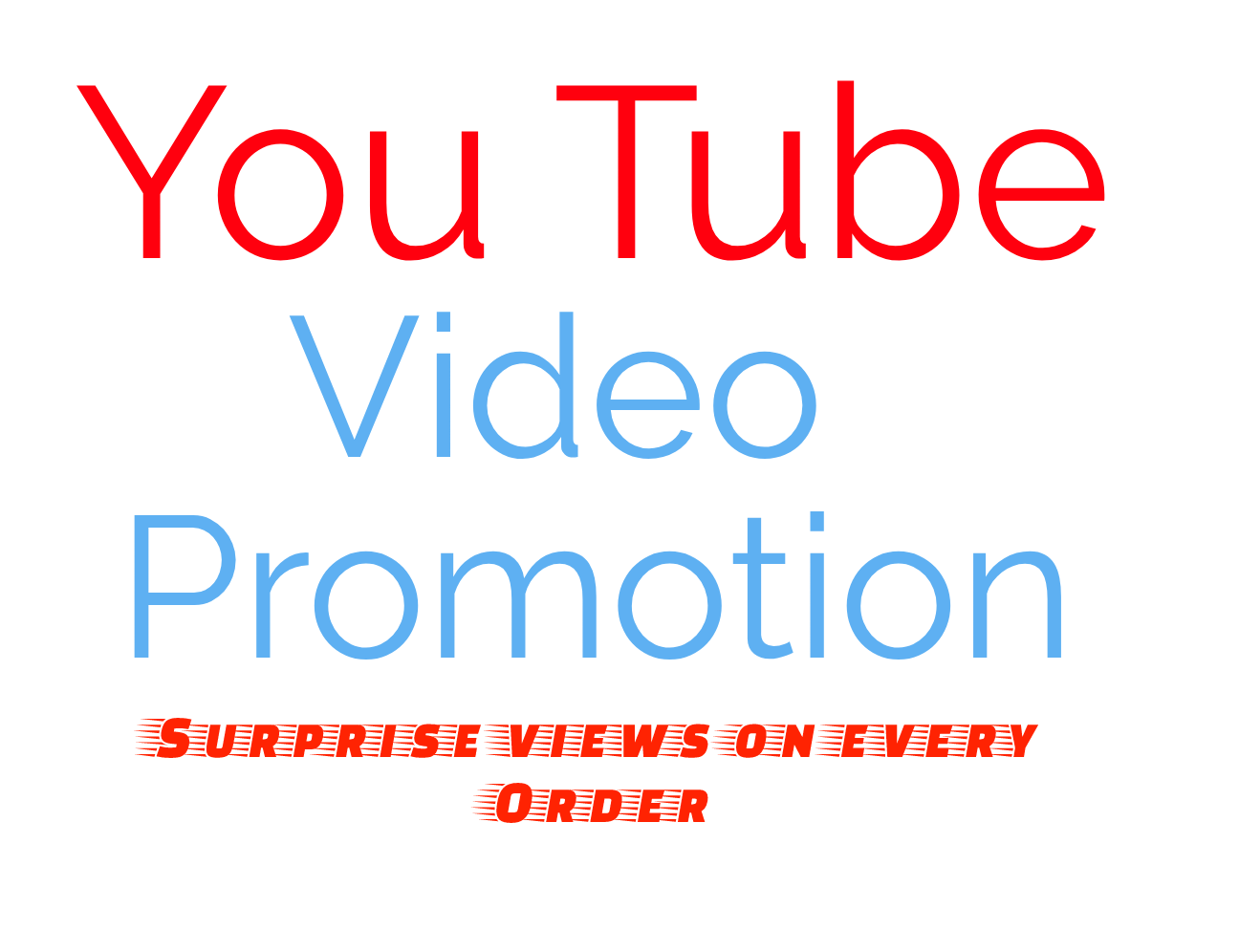 20000+ YouTube VIDEO PRMOTION INSTANTLY