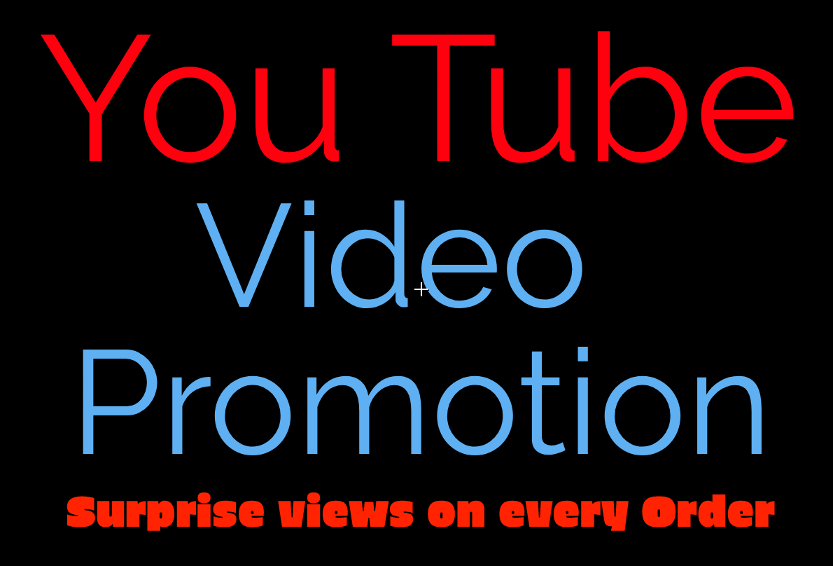 Advance Youtube Video Promotion