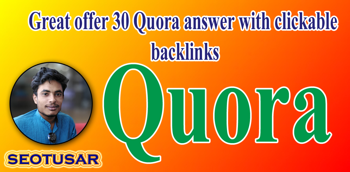 Do Businesses Related Quora Answer With Clickable Backlinks