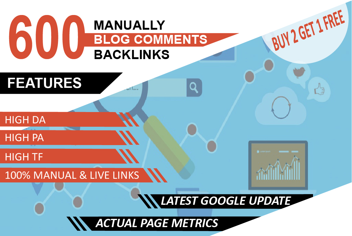 I will do 600 trust flow blog comment manually on good ranking sites