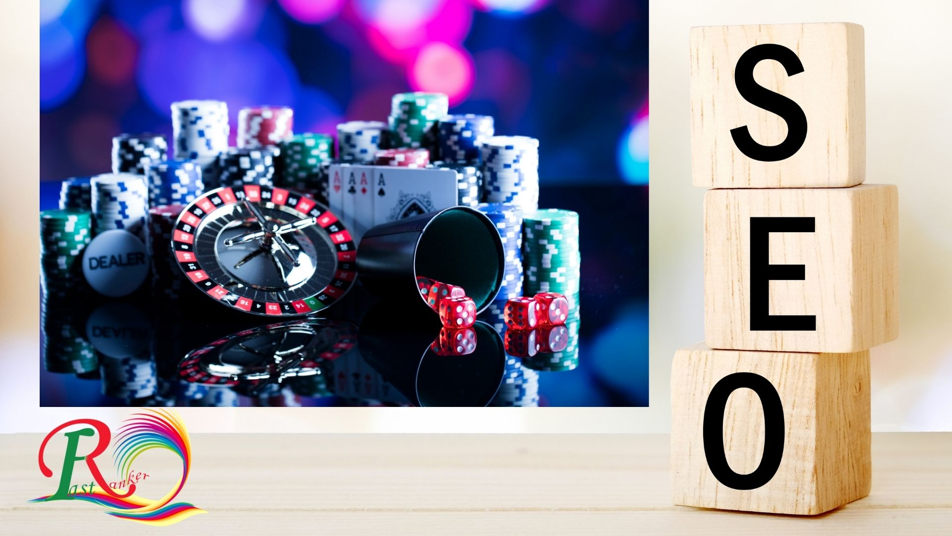 Google 1st Page Ranking SEO BEST Service 100+ BACKLINKS CASINO/Gambling/Poker