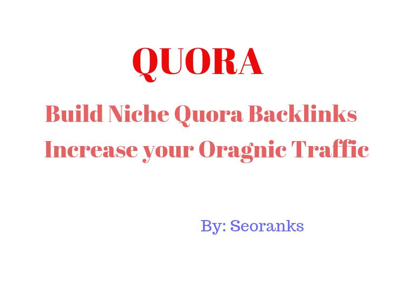 Quora Domain Authority Quality Backlink