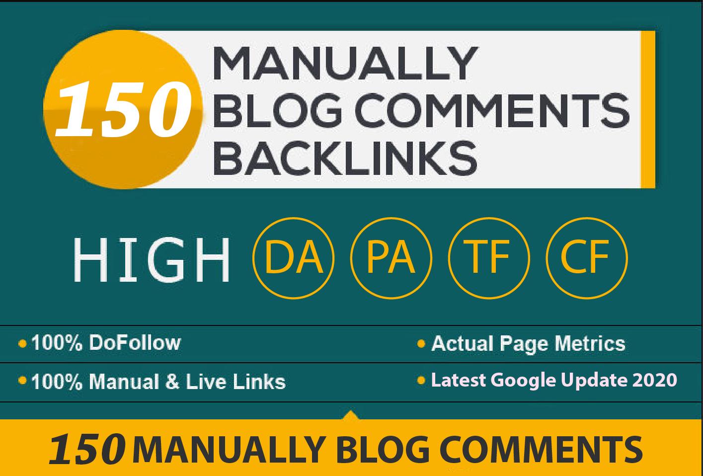 I will provide Dofollow Blog Comments High DA PA, DoFollow Backlinks