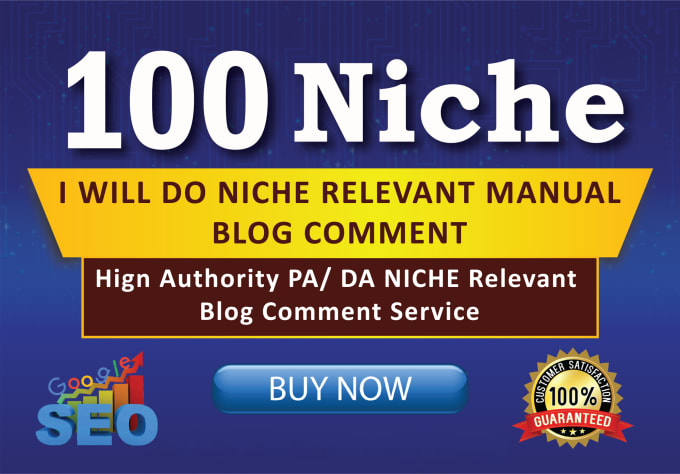 I will Promote Your Website with 100 Niche Related Blog Comments Backlinks