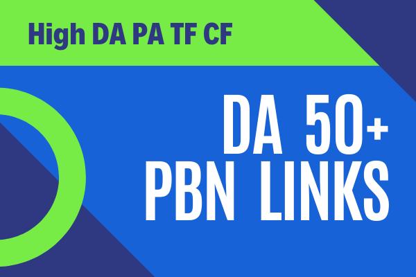 I will Build 10 DA50 Plus PBNs Link
