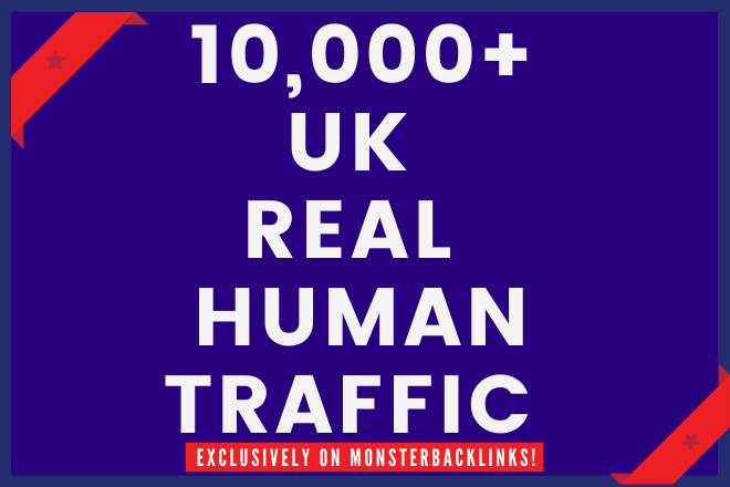 Send 10000+ Real Human Traffic from UK