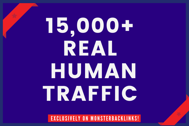 Send 15,000 Real Human Traffic From USA/UK/CANADA