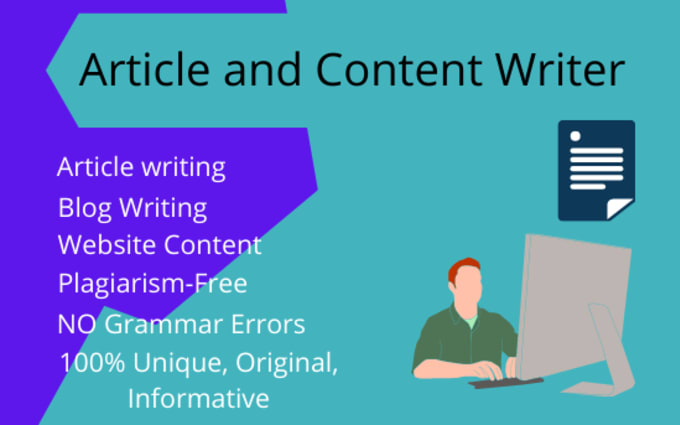 I will write 500 SEO friendly article blog post content writing writer rewrite
