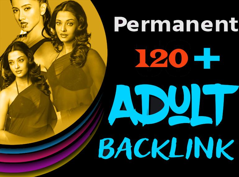 Creative 110 Adult SEO Permanent Backlink From DA 60+ Backlinks Site
