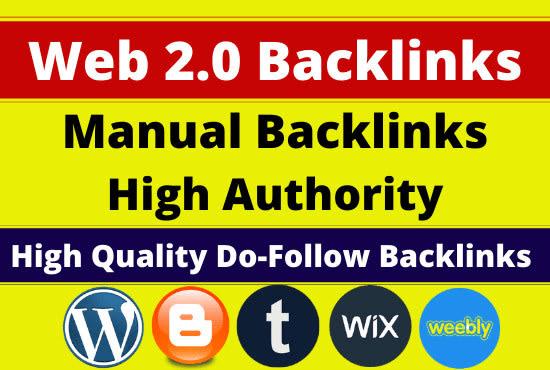 I will create 15 web2 contextual backlinks from high da platforms