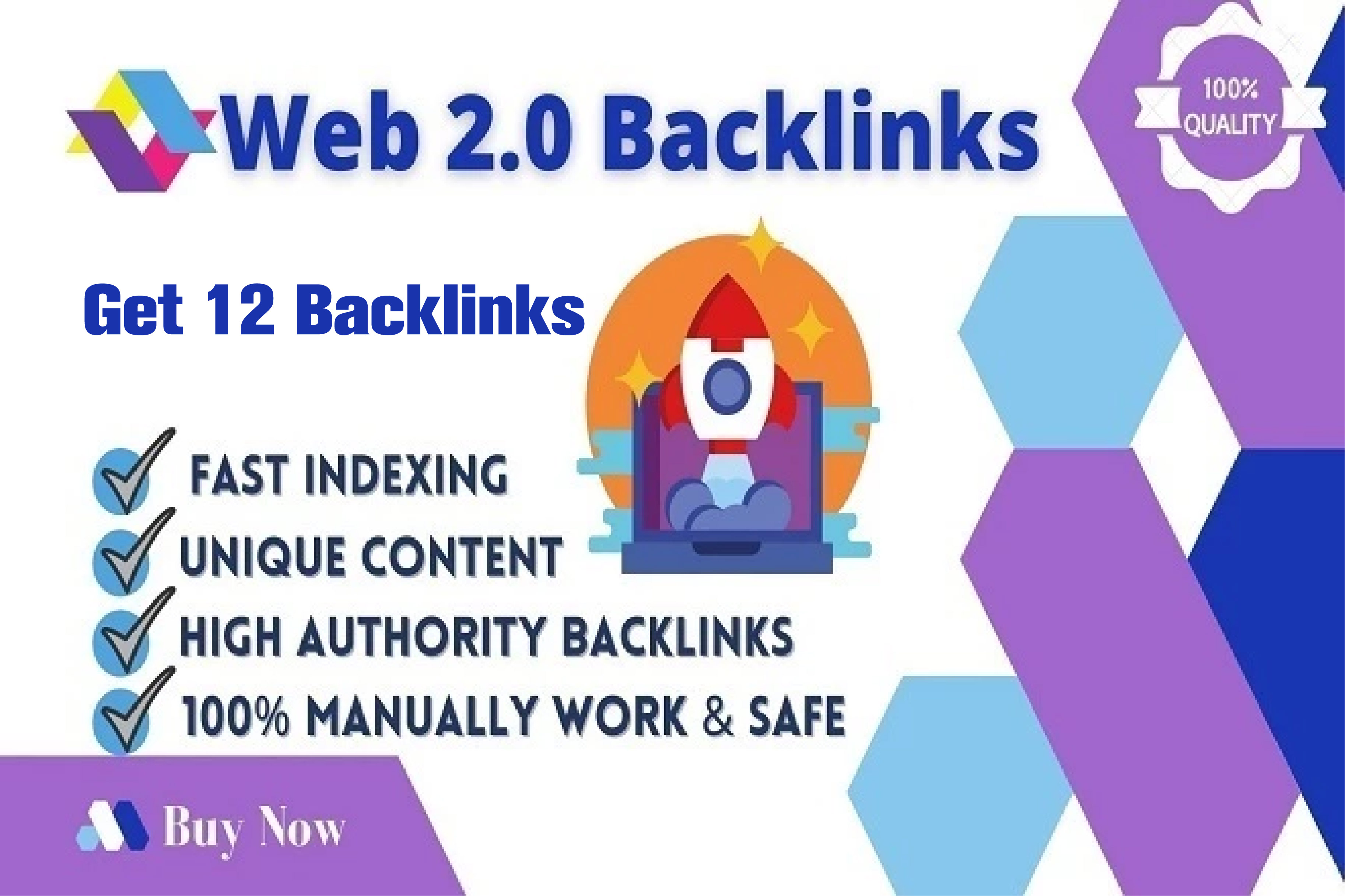 Create 12 Web 2.0 blog Shared account High Domain Authority Backlinks For Your Website