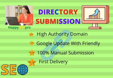 I will do 45 high PA,  DA,  PR any country's and directory submission.