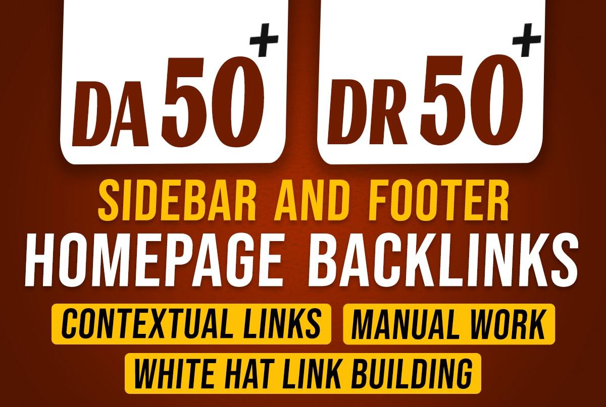 DO 100 PBN DA 50+ To Dr 50+ Permanent Homepage Dofollow Backlinks