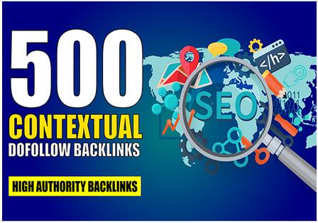 I will Create 500 Dofollow Powerful Profile SEO Backlinks