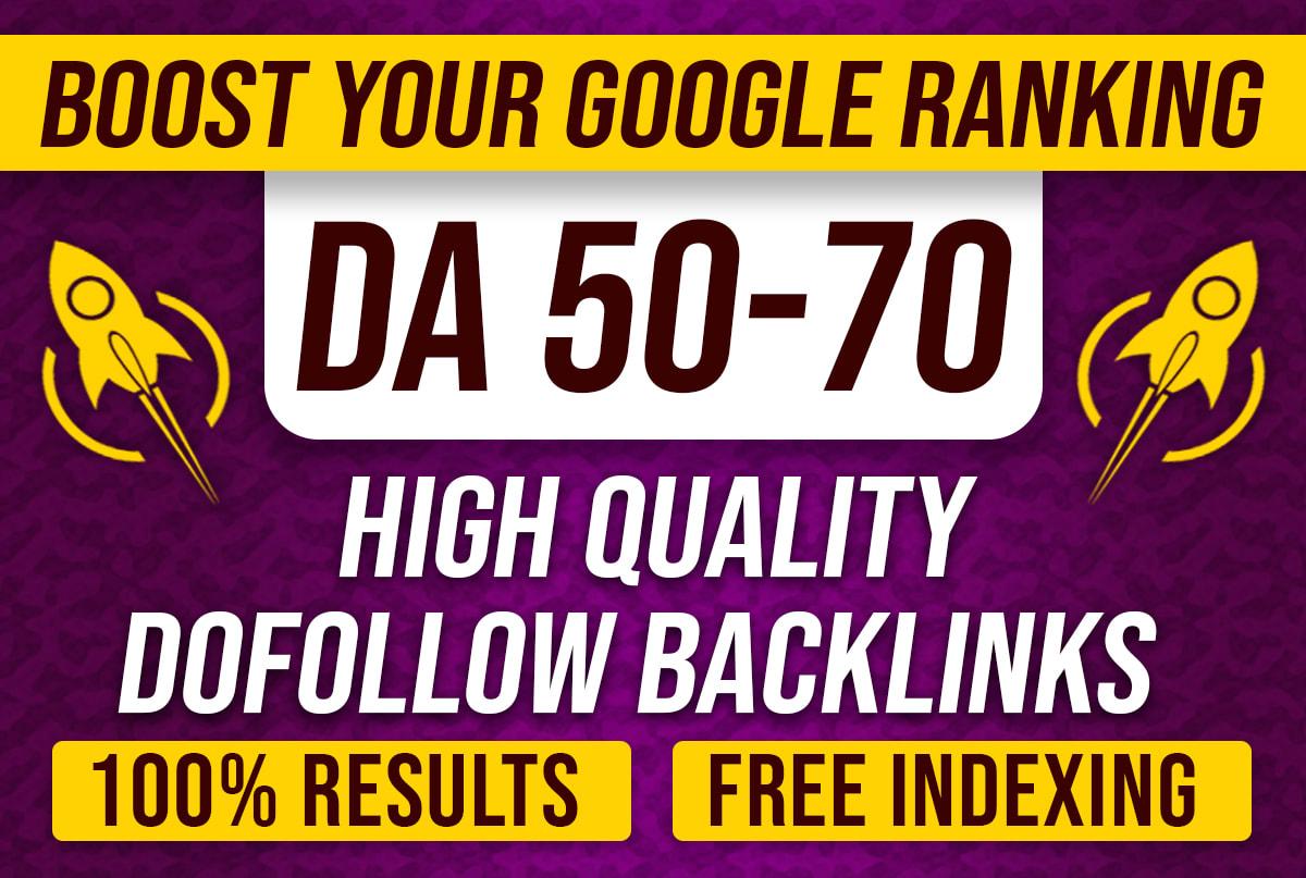 I will create high quality 50 DA 50 CASINO GAMBLING POKER PBN backlinks