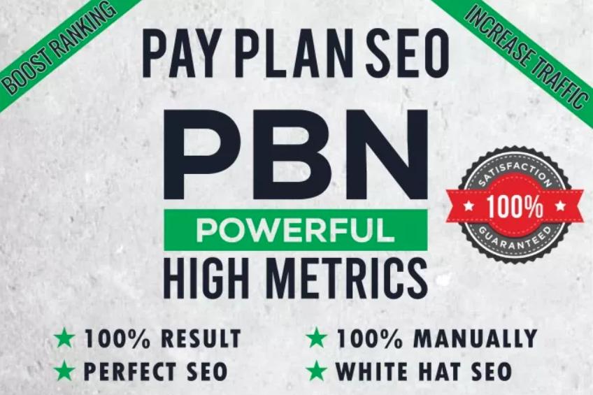 Build 50 PBN High DA PA TF CF HomePage Contextual Permanent Backlinks - Dofollow Quality Links