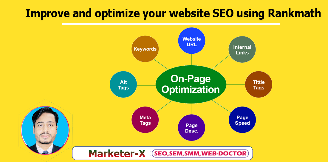 I will improve and optimize your website SEO using Rankmath