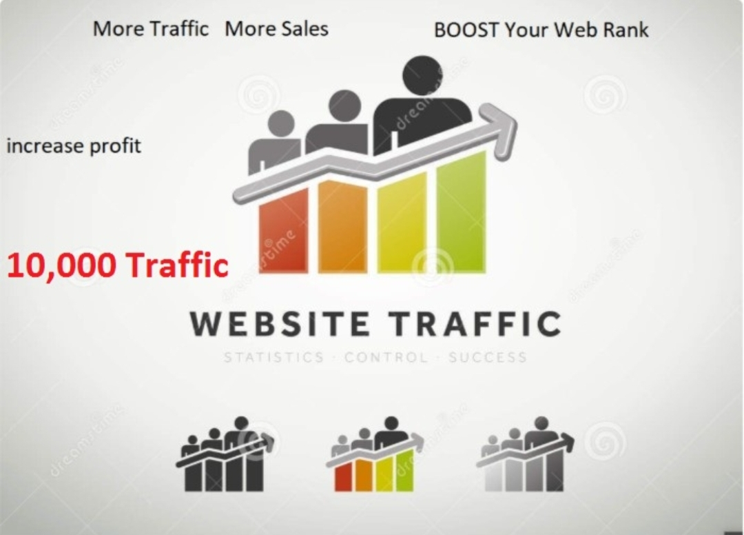 Real 30,000 Human Website Visitors From Google,  Social Media Web Visitors to your website for 1