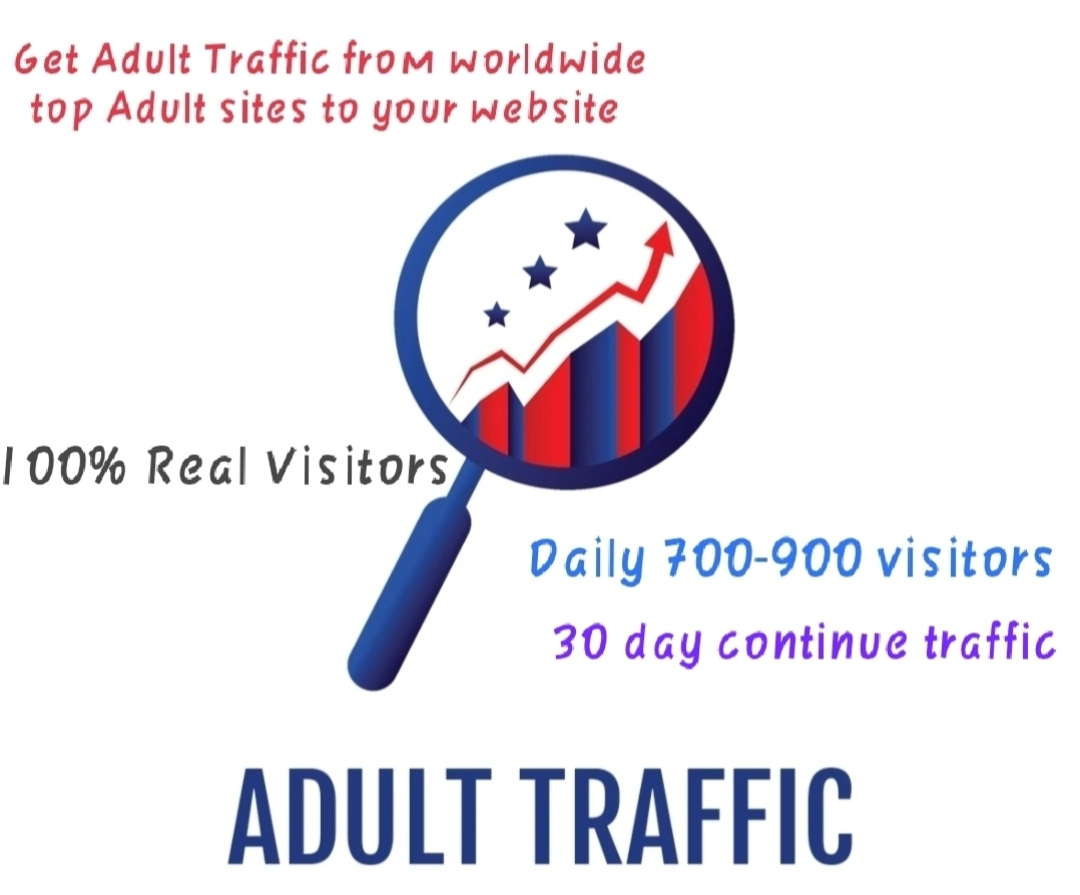 Get Adult Traffic from worldwide top Adult sites to your website for 5