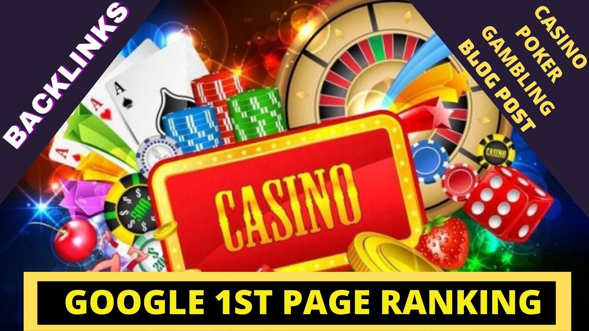Rank Boost On-1st 150+ CASINO/GAMBLING/POKER Niche PBNs & Profile Tier-2 For Google ranking