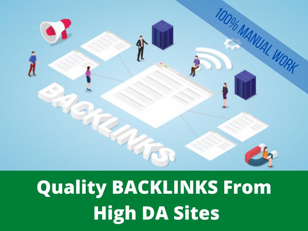 30 High quality SEO Dofollow Backlinks