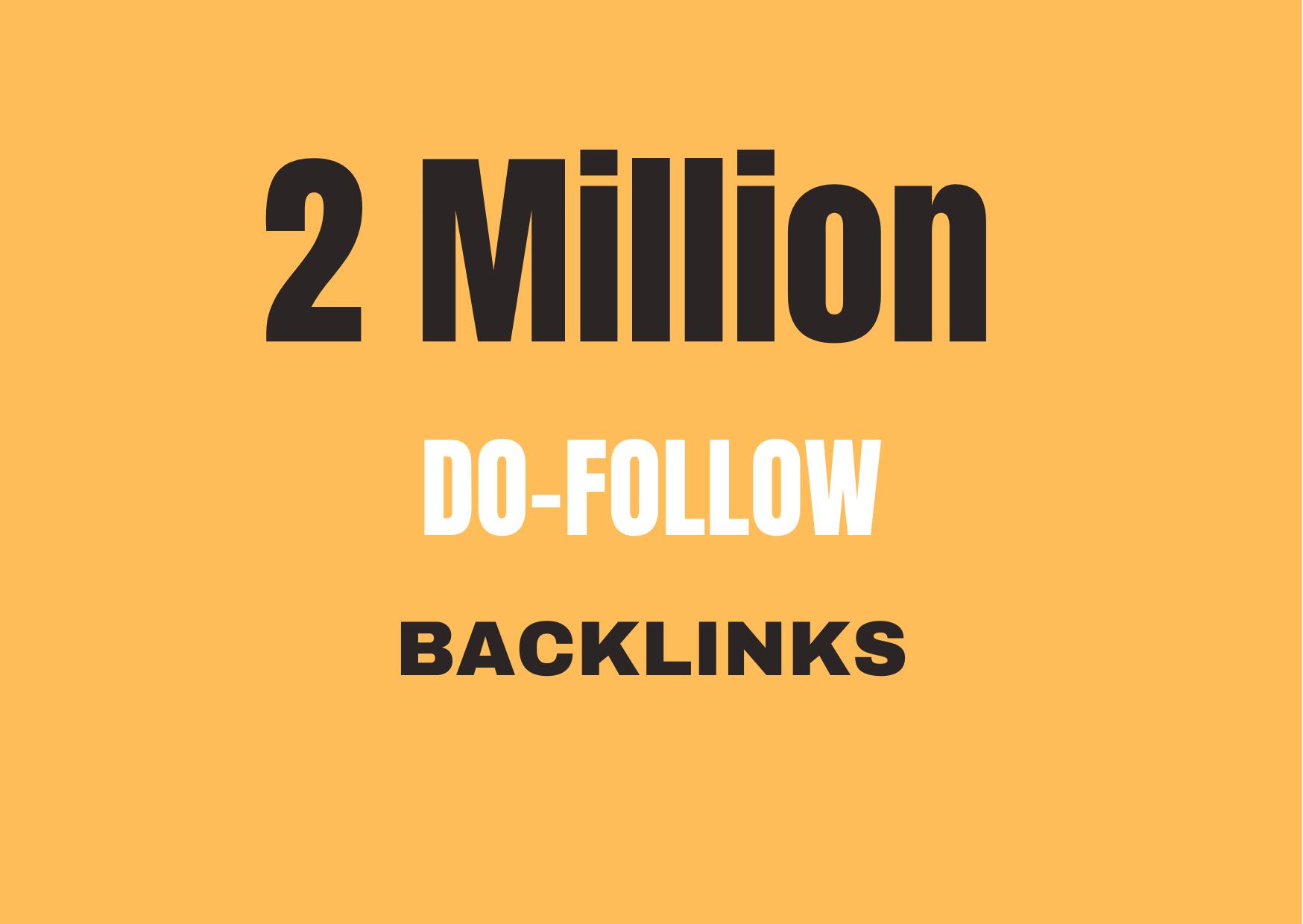 2M premium do-follow GSA Backlink to boost your ranking