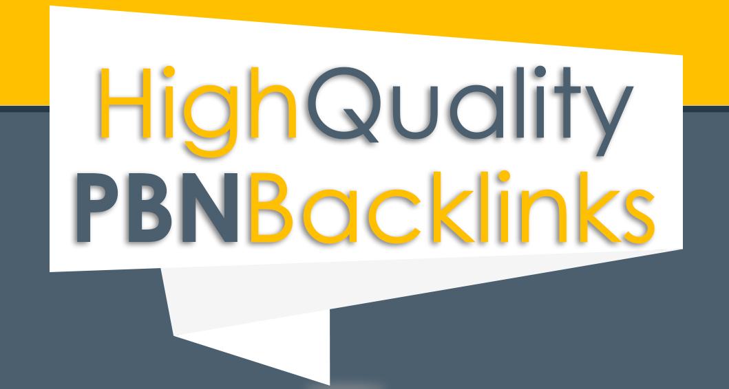 Build 20 Dofollow High Quality Links PA DA TF CF HomePage PBN Backlinks