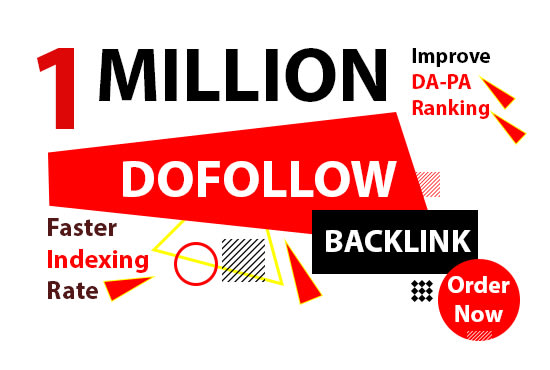 Build 1 million Dofollow authority backlink with faster index