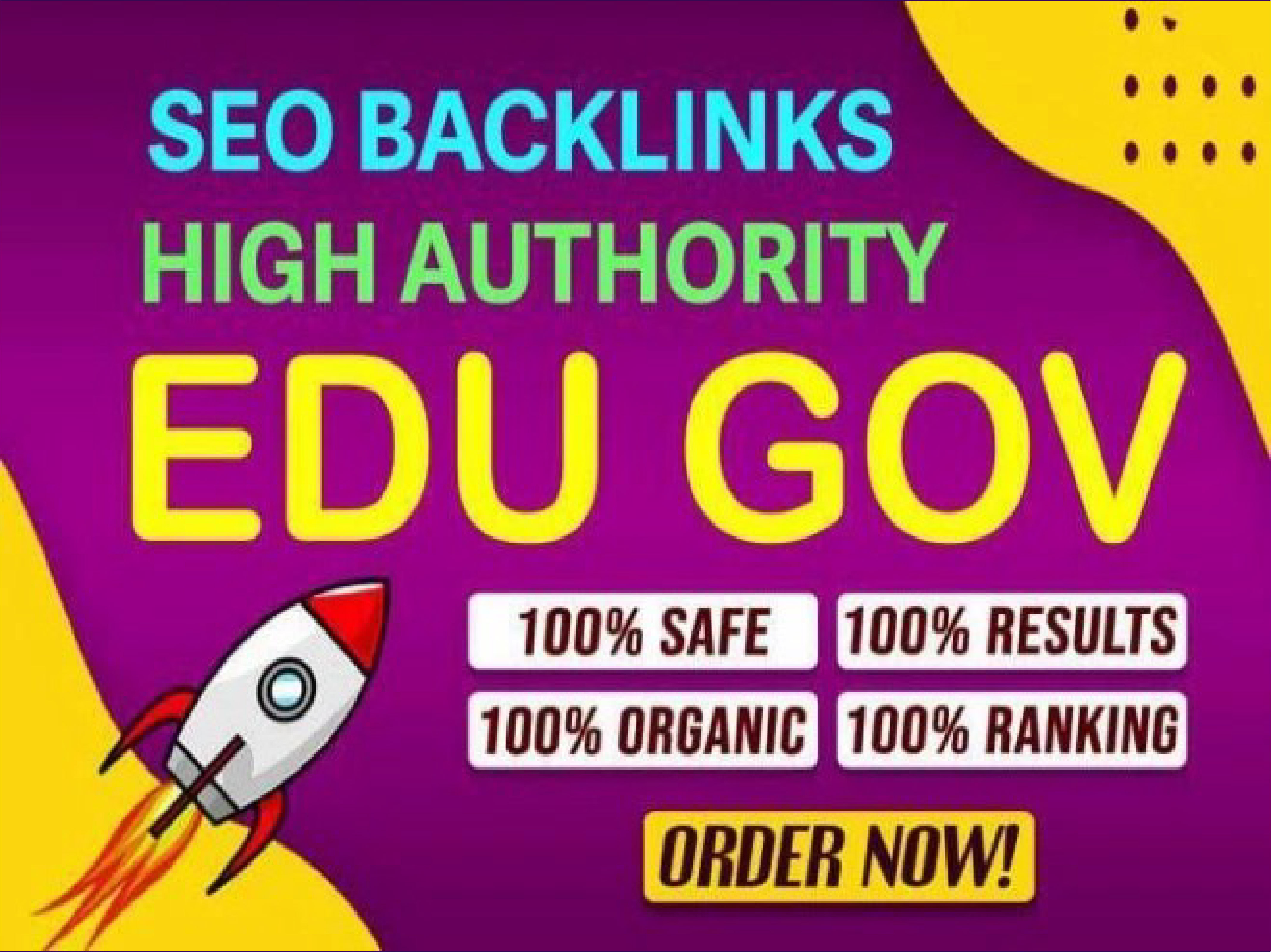 Update Rank On Google By 155 EDU Backlinks Manually Created From Big Universities