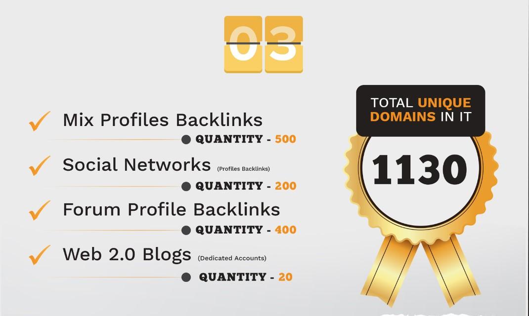 We Provide 3680 Backlink from Wiki,  Web2,  Forum Profile,  Blog