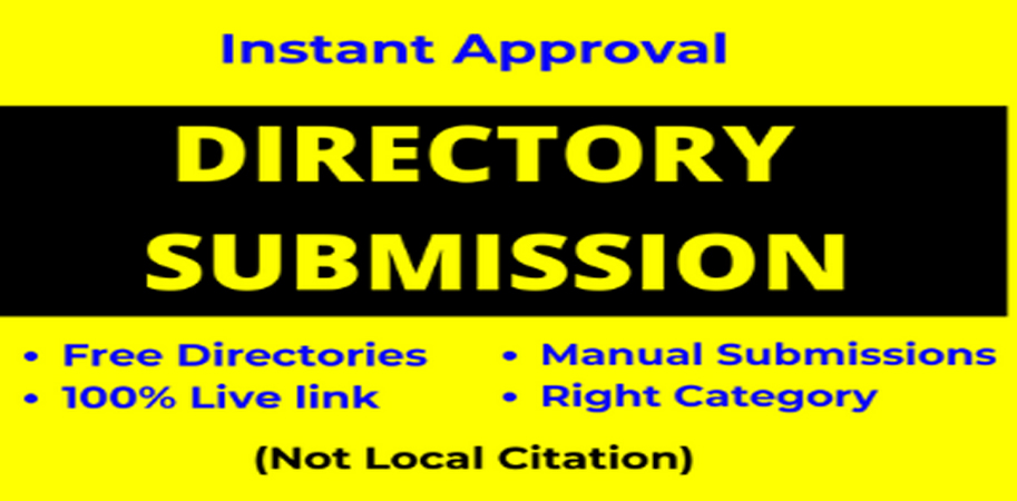 I will do provide 100 HQ Directory submission backlinks