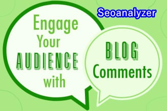 I will make 200 high quality backlinks using blog comments