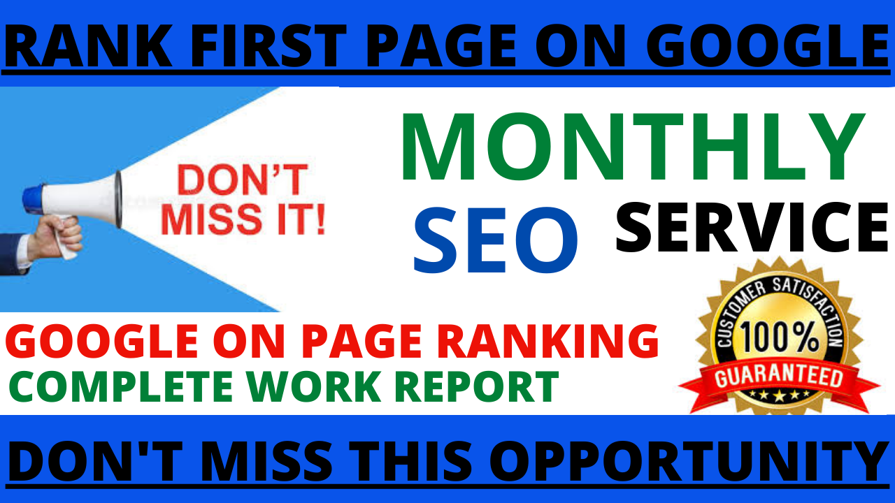 I will build a best monthly SEO dofollow backlinks only 70