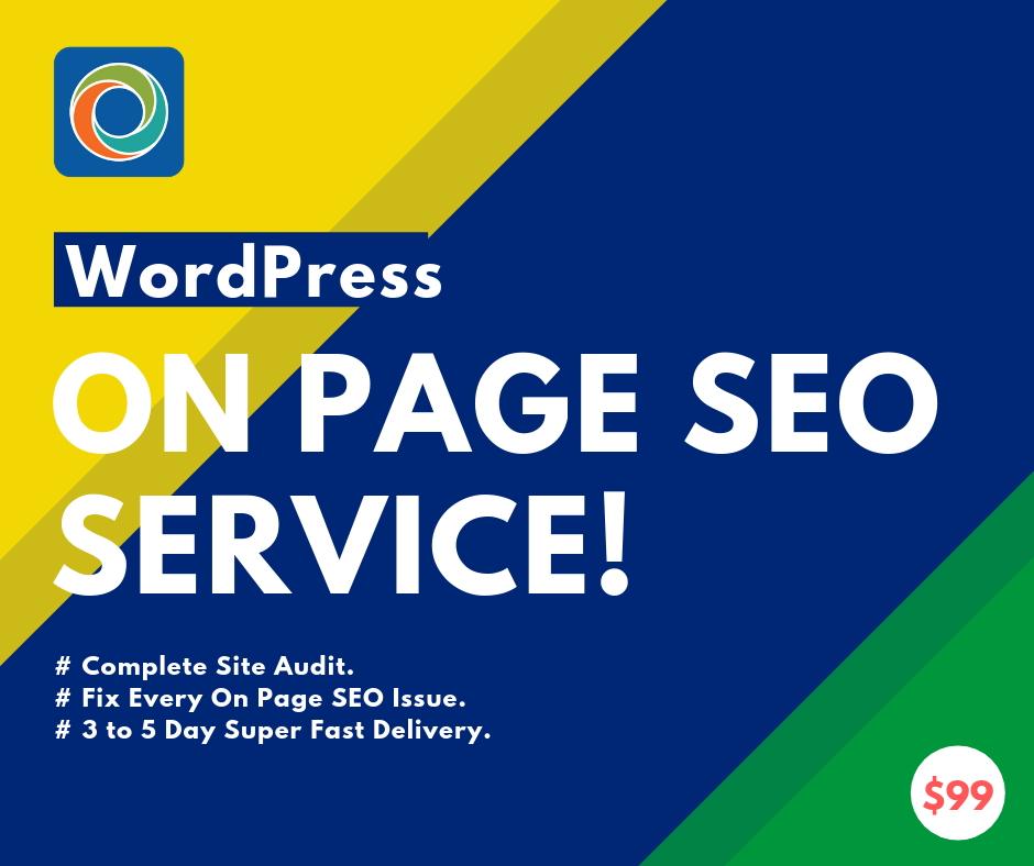 I will do on page SEO for google for your Wordpress