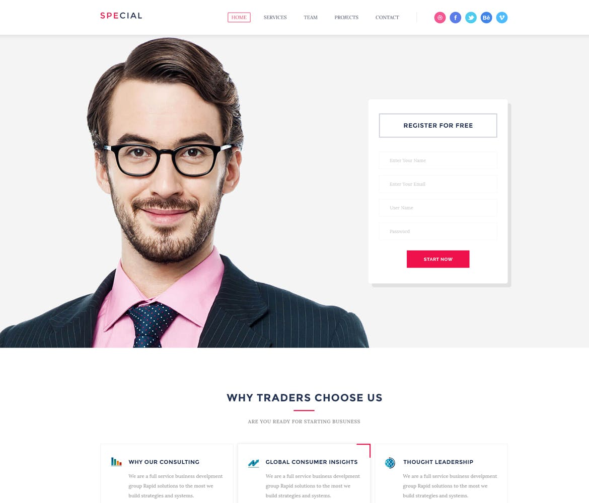 50 Powerful Landing Page HTML Pack with FULL rights
