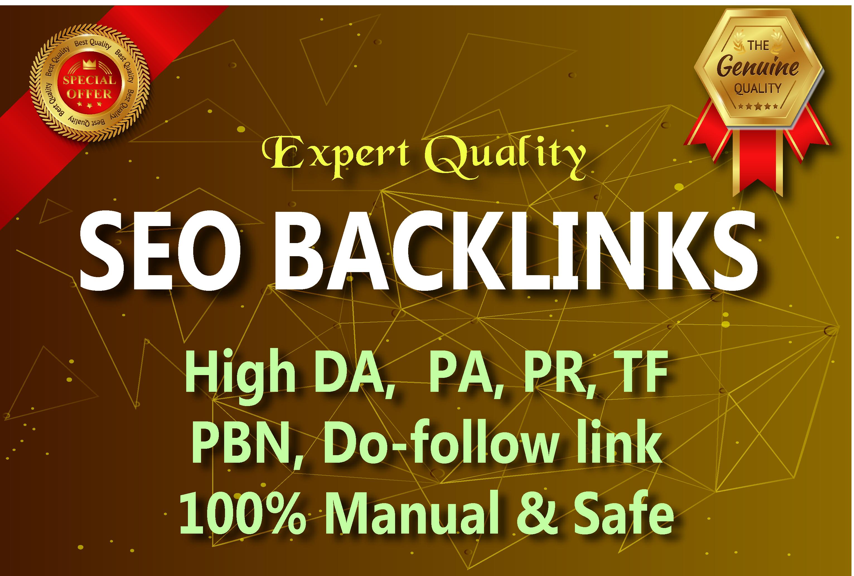 I will do 60 Link Building in High DA sites,  Expert Quality Seo Backlinks.