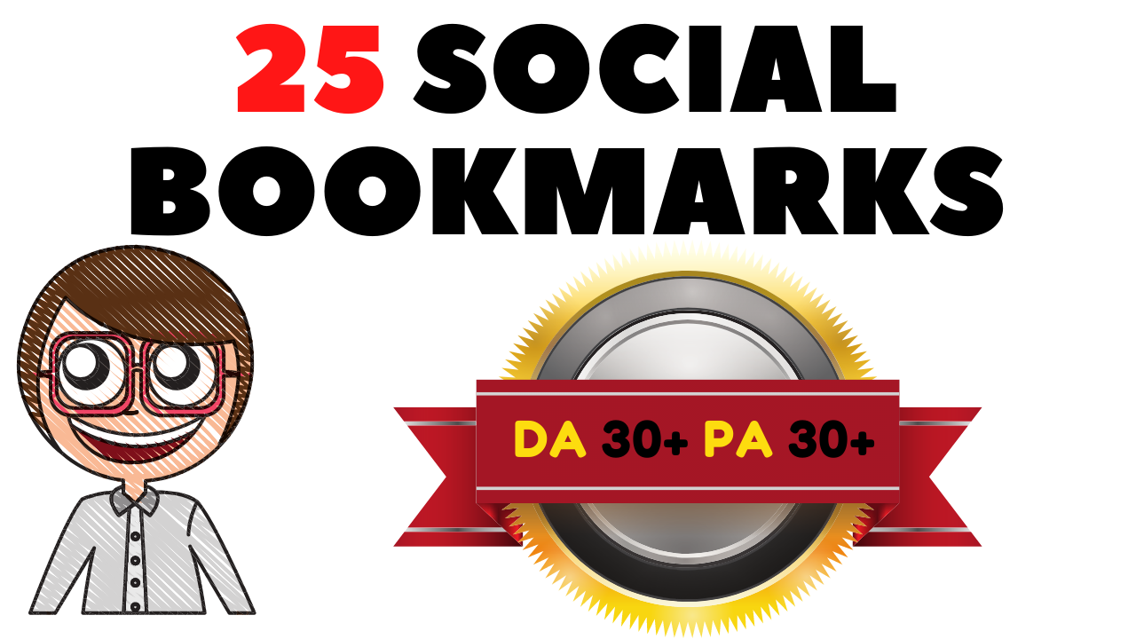 25 high DA Social Bookmarks To Boost Your Ranking