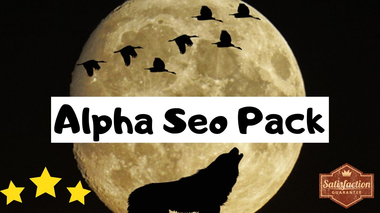 Alpha Seo Pack Boost EDU and GOV Links Reddit Tumblr Doc Sharing and More
