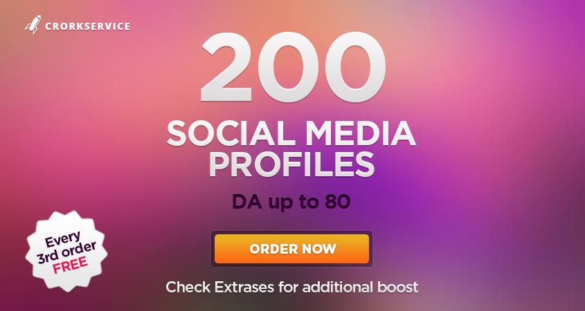 200 authority backlinks from trust profiles up to DA80