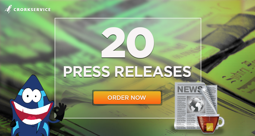 20 High Authority Press Releases,  inlcluding content writing
