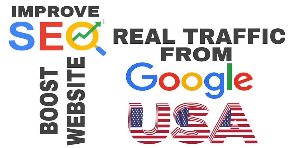 Google Search Engine USA Country 2,000 Organic Website Traffic Unlimited Keywords