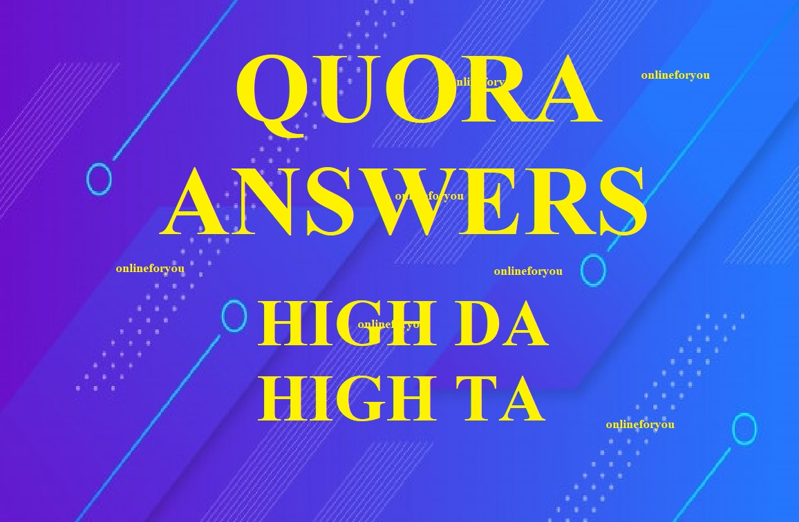 boost your website by 250 word 2 Unique Quora Answers with contextual link
