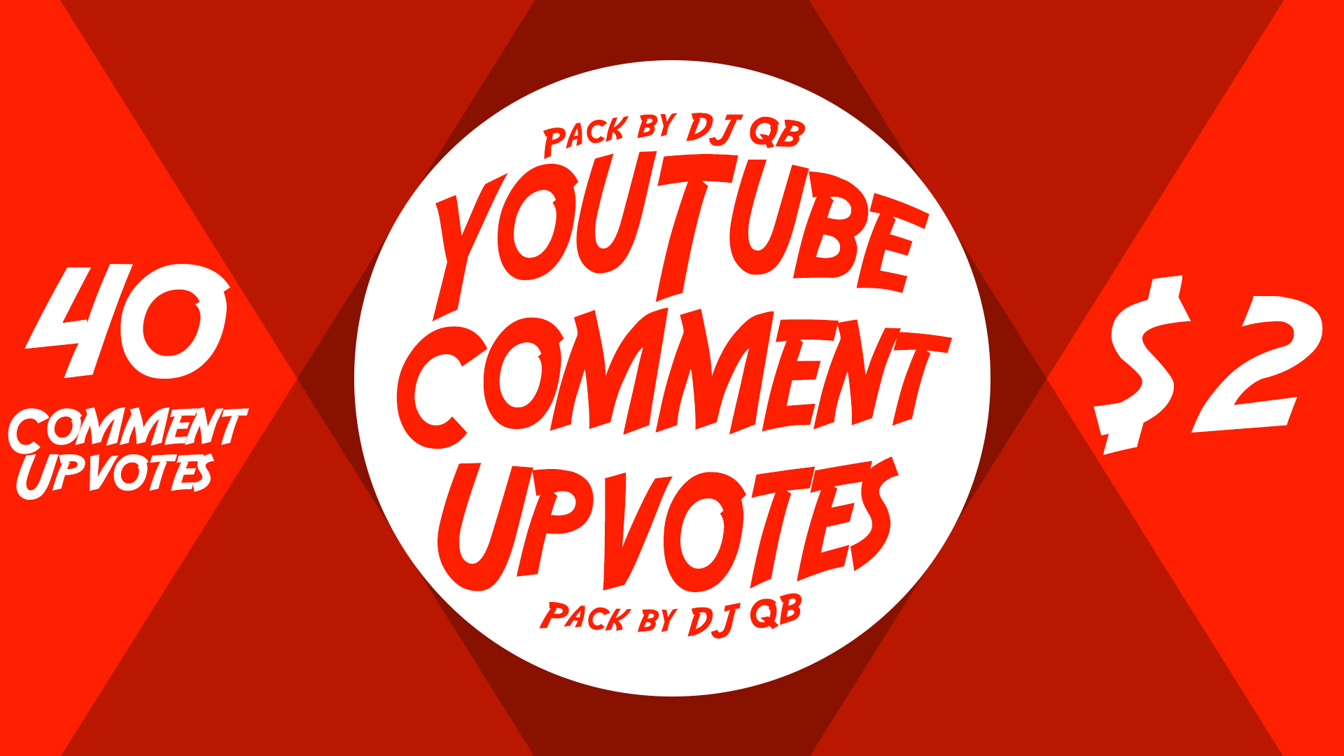 40 Natural High Quality Comment Upvotes,  Video Comment Likes
