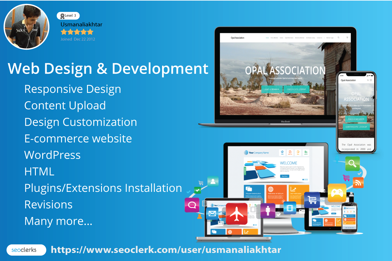 Wordpress Web Developer And Website Designer