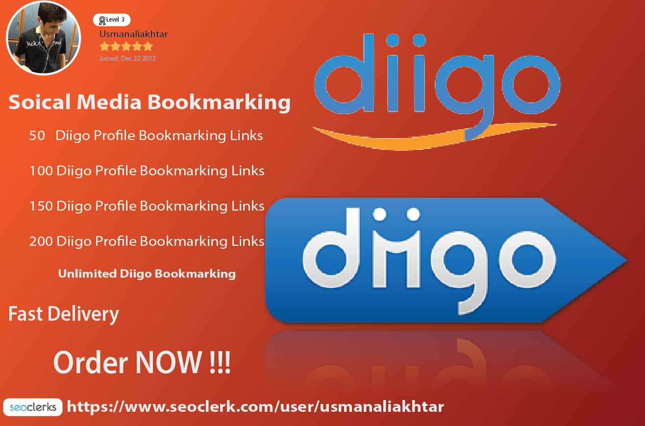 Add your website or URL 80 Diigo Profile share links