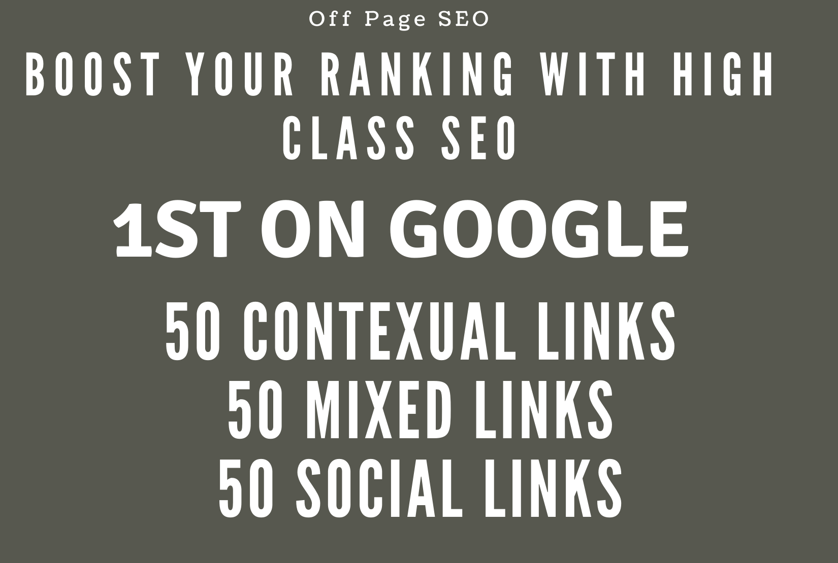 I will do off page SEO for 10x traffic